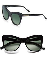 Marc New York - 53mm Cat Eye Sunglasses - Lyst