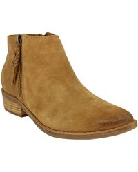 Naughty Monkey - Saintel Suede Booties - Lyst