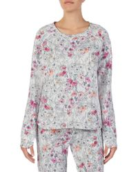 Kensie - Long-sleeve Pyjama Top - Lyst