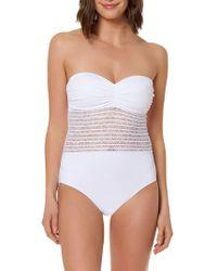 Bleu Rod Beattie - Illusion One-piece Swimsuit - Lyst