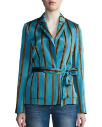 Day Birger et Mikkelsen - Striped Long-sleeve Jacket - Lyst