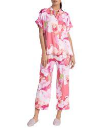 N Natori - Pastel Blossom 2-piece Pyjama Set - Lyst