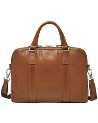 Fossil - Mayfair Leather Workbag - Lyst