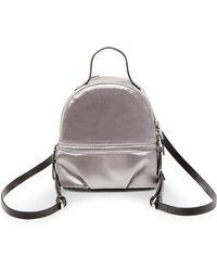 Steve Madden - Satin Mini Backpack - Lyst