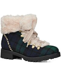 Jack Rogers - Charlie Faux Shearling Boots - Lyst