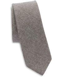 Original Penguin - Textured Cotton Tie - Lyst