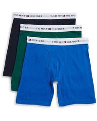 Tommy Hilfiger - Three-pack Logo Accented Boxer Briefs Set - Lyst