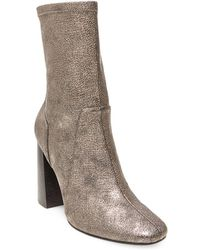 Lord & Taylor - Maala Microsuede Ankle-length Boots - Lyst