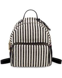 850d8a85dd8 Tommy Hilfiger - Julia Striped Dome Backpack - Lyst