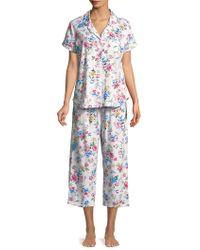 Karen Neuburger - Printed Short-sleeve Pyjamas - Lyst