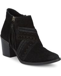 Naughty Monkey - Noah Suede Booties - Lyst