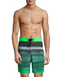 Hurley - Phantom Mountain Fast Lightweight Swim Trunks - Lyst