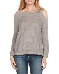 Jessica Simpson - Knit Cold-shoulder Pullover - Lyst