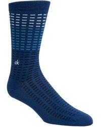 Calvin Klein - Tile-print Socks - Lyst