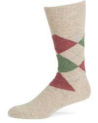 Polo Ralph Lauren - Argyle Casual Socks - Lyst