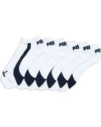 PUMA - Colorblock Invisible Socks Set - Lyst