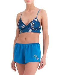Rya Collection - Enchanted Two-piece Bralette Pajama Set - Lyst