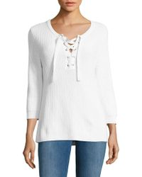 Tommy Bahama - Pickford Lace-up Jumper - Lyst