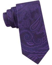 Ted Baker - Textured Paisley Silk Tie - Lyst