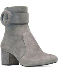 Nine West - Quilby Suede Booties - Lyst