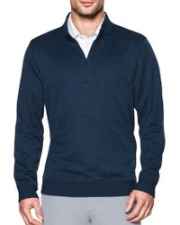 Under Armour - Men's Quarter-zip Storm-fleece Jumper - Lyst
