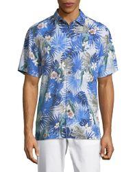 Tommy Bahama - Marino Paradise Silk Camp Shirt - Lyst