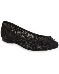 Adrianna Papell - Sage Lace Ballet Flats - Lyst