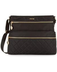 CALVIN KLEIN 205W39NYC - Quilted Crossbody Bag - Lyst