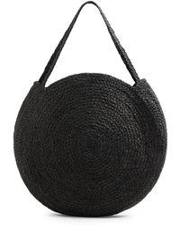Mango - Caspio Hand-woven Shopper - Lyst