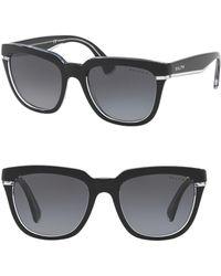 Pink Pony - 53mm Square Sunglasses - Lyst