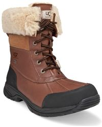 UGG - Butte Sheepskin Leather Boots - Lyst