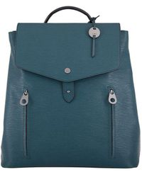 Lodis - Large Bel Air Rfid Odie Textured Leather Backpack - Lyst