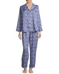 Miss Elaine - Printed Pyjamas - Lyst