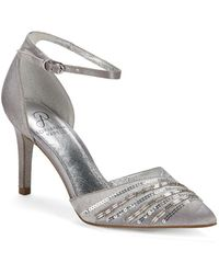 Adrianna Papell - Ankle Strap Court Shoes - Lyst