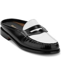G.H.BASS - Wynn Iconic Patent Leather Penny Mules - Lyst