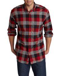 Eddie Bauer - Eddies Favorite Cotton Casual Button-down Shirt - Lyst