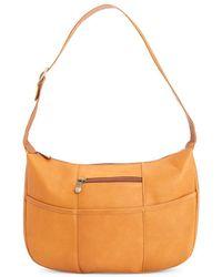 Royce - New York Leather Shoulder Bag - Lyst
