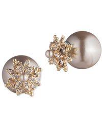 Marchesa - Faux Pearl Earrings - Lyst