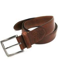 Boconi - Davis Leather Belt - Lyst