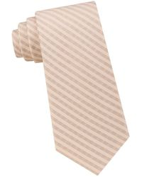 Calvin Klein | Silk Woven Tie | Lyst