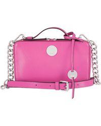 Lodis - Rodeo Chain Sally Leather Zip-around Crossbody Bag - Lyst