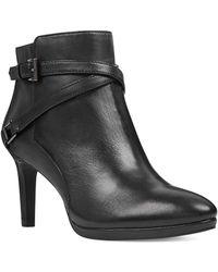 Bandolino - Baruffi Leather Booties - Lyst
