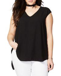 4a1370da5dc96 Lyst - Rachel Rachel Roy Curvy Trendy Plus Size Sydney High-low ...