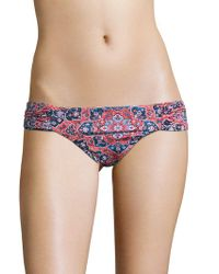 Lucky Brand - Printed Pull-on Hipster - Lyst
