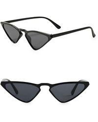 Mango - Retro Butterfly Sunglasses - Lyst