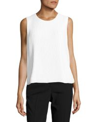 CALVIN KLEIN 205W39NYC - Pleated Bubble Top - Lyst
