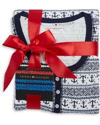 Tommy Hilfiger - Moose Print Pyjamas - Lyst