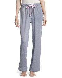 Nautica - Striped Drawstring Pyjama Trousers - Lyst