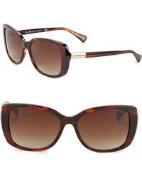 Pink Pony - 57mm Oversized Cat Eye Sunglasses - Lyst