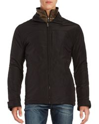 Weatherproof - Zip Front Quilted Lining Jacket - Lyst